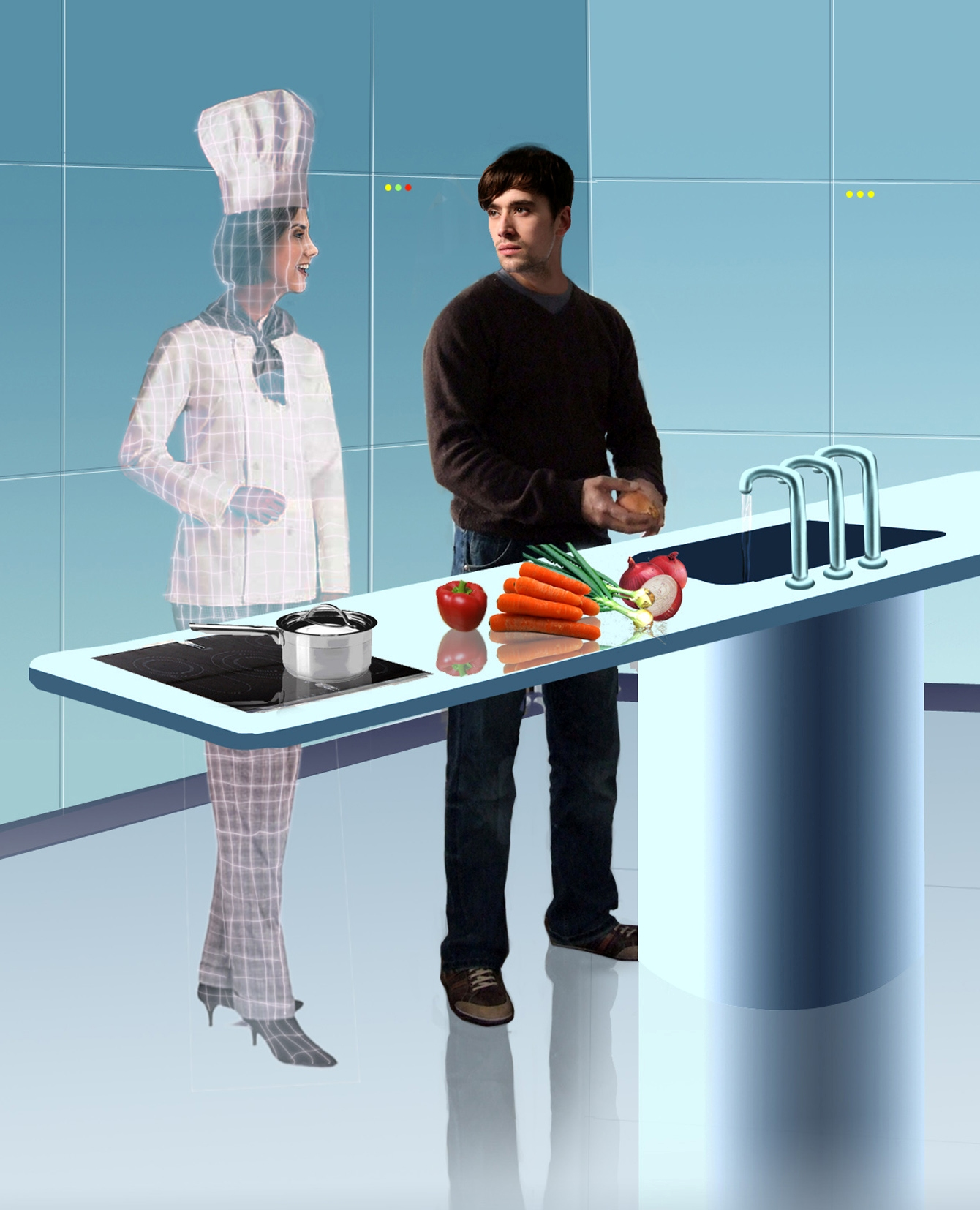 IDIOT TOYS: Tech news for the bored: The kitchen... OF THE ...