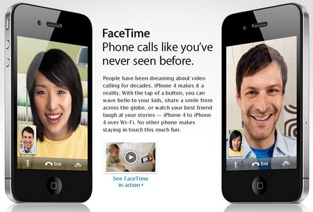 iphone 4 video calls