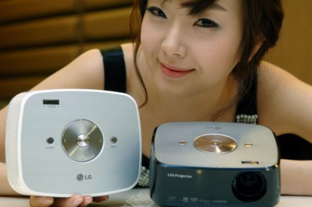 LG LED Projector 1