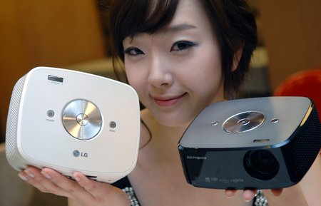 LG LED Projector 5