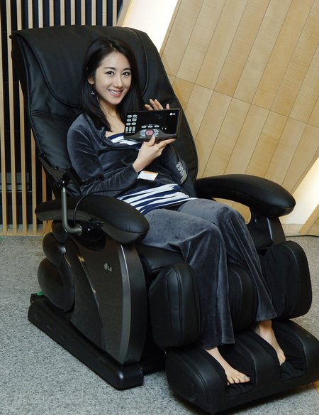 lg massage chair 2