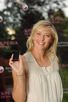 maria sharapova x10 mini launch
