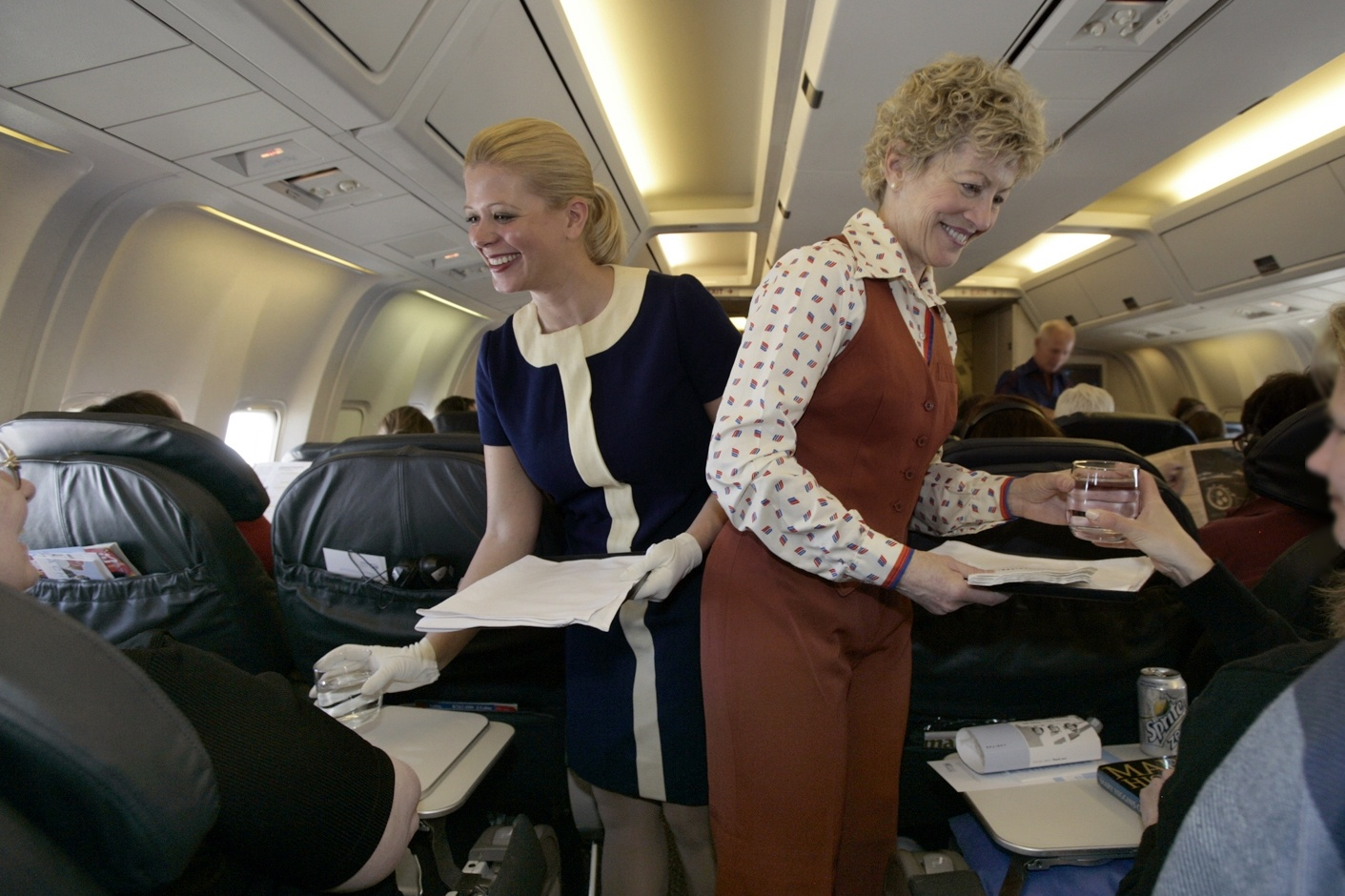 United Airlines Flight Attendant PROMOTIONAL PHOTOGRAPH...